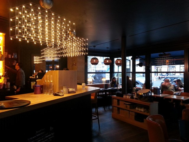 Gabrielle Cafe Paris bar