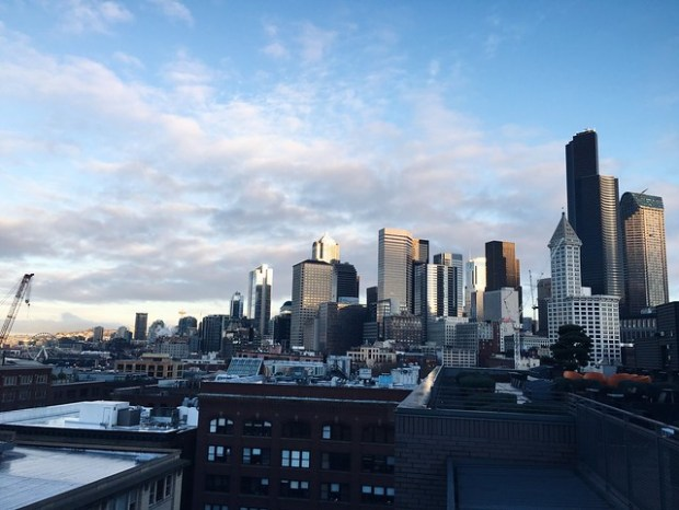 The Seattle skyline | No Apathy Allowed