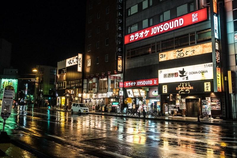 Nagano de noche
