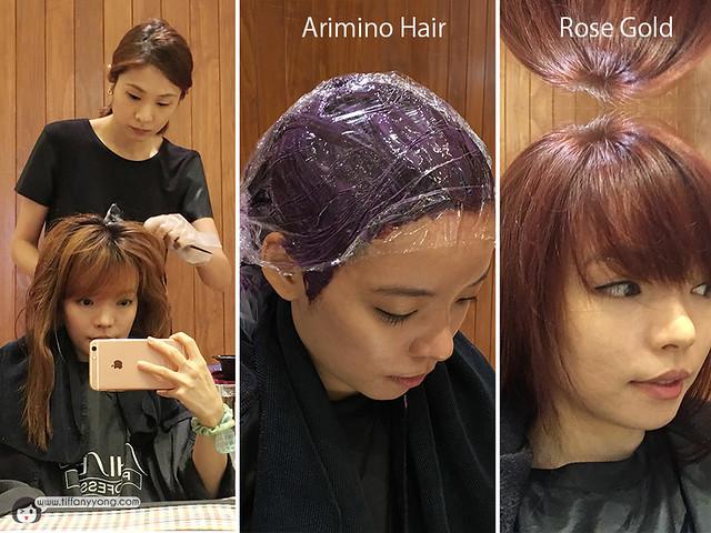 Shunji Matsuo Arimino Hair Colour