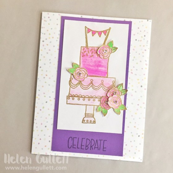 Celebrate with Cake - Card 1