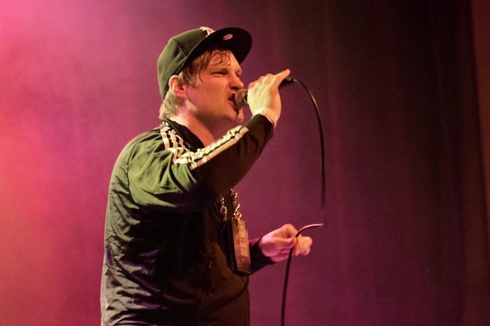 MC Lars at Denver's Bluebird Theater, 2016