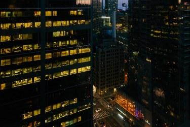 Toronto Architecture at Night