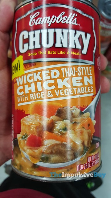 Campbell's Chunky Wicked Thai-Style Chicken with Rice & Vegetables