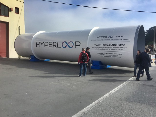 Hyperloop at Launch Festival 2016