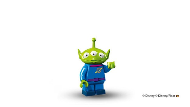 Lego Disney Minifigures Toy Story Alien