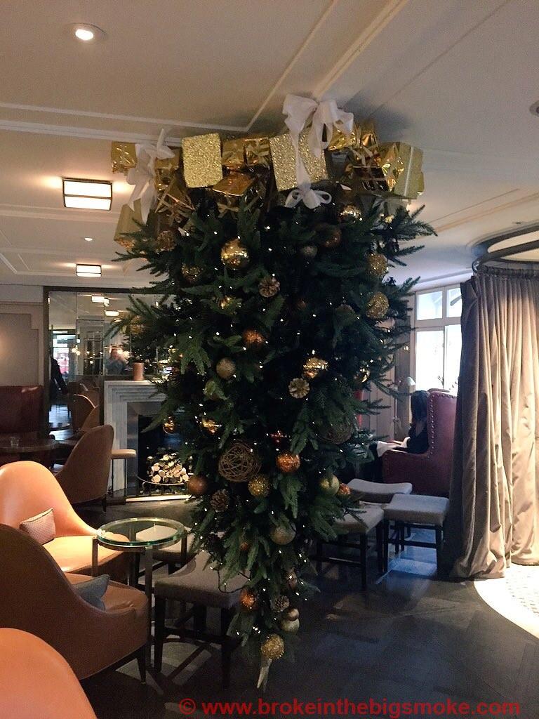 Lanes of London upside down Christmas Tree