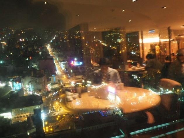 シャングリ・ラ台南 酔月楼の夜景