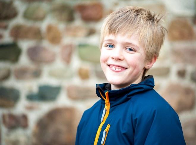 Oskar, 7, Christmas