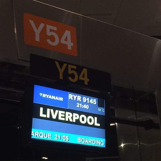 Escapada exprés a Liverpool