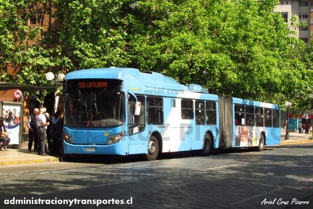 Transantiago - Alsacia - Busscar Urbanuss / Volvo (ZN5401)