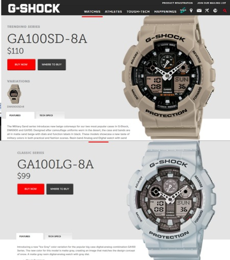 Casio GSHOCK Military Sand_02