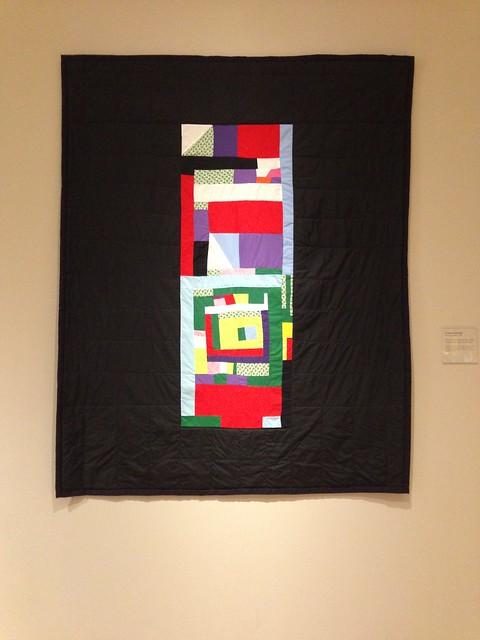 Louisiana Bendolph, Blocks and Strips Medallion Quilt, High Museum, Atlanta GA