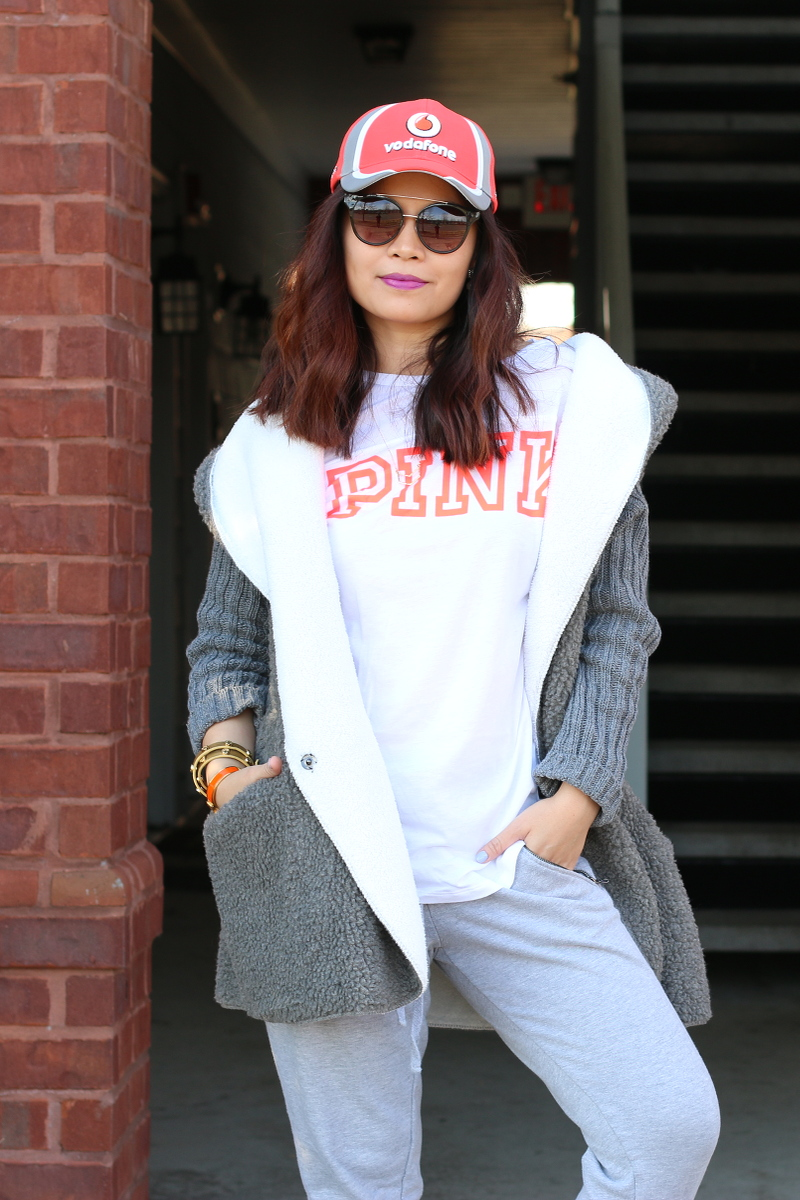 pink-shirt-shein-top-vodafone-cap-sporty-1