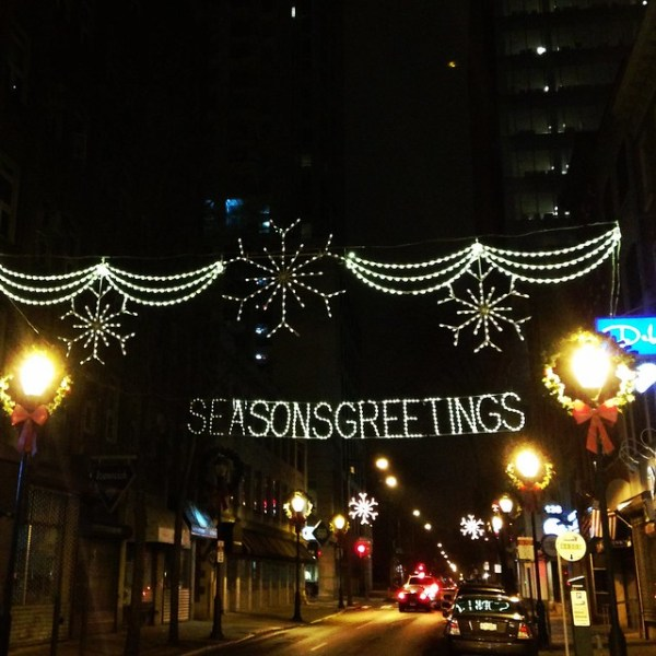 Season's Greetings Jewelers Row