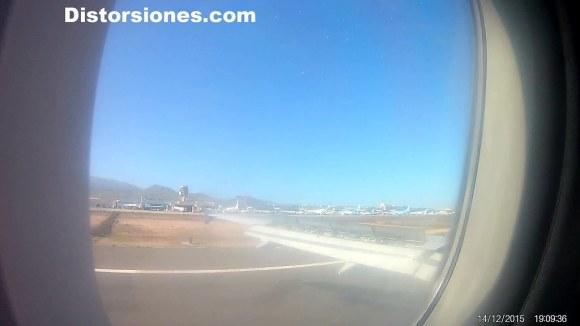 Aterrizando en Gran Canaria