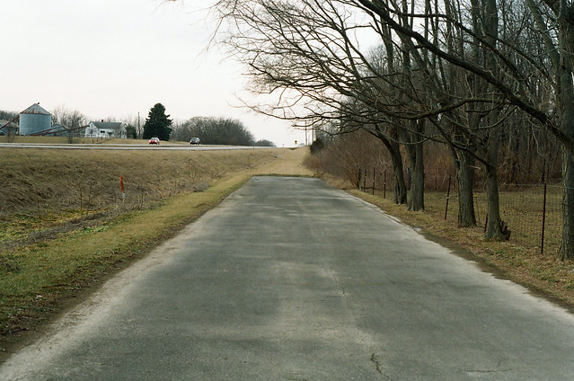 Old alignment, US 52