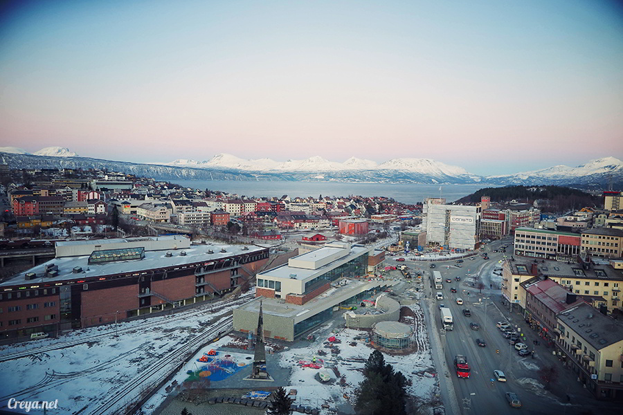 2016.02.23  看我歐行腿   阿呀~一不小心就從瑞典到了挪威, Narvik 小鎮遇見地理課本中的峽灣 32.jpg
