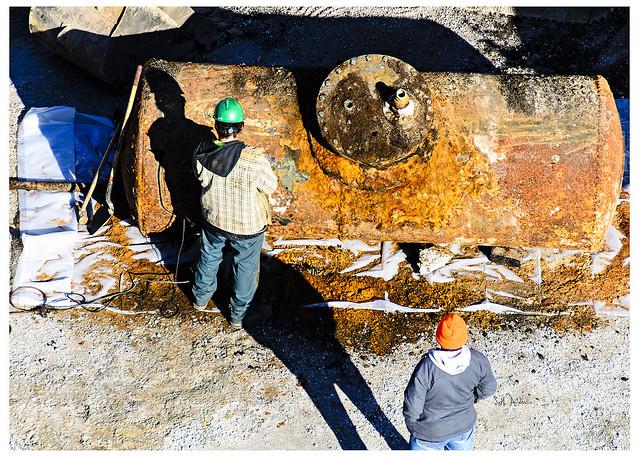 Digging Up Remnants at 165 N Desplaines