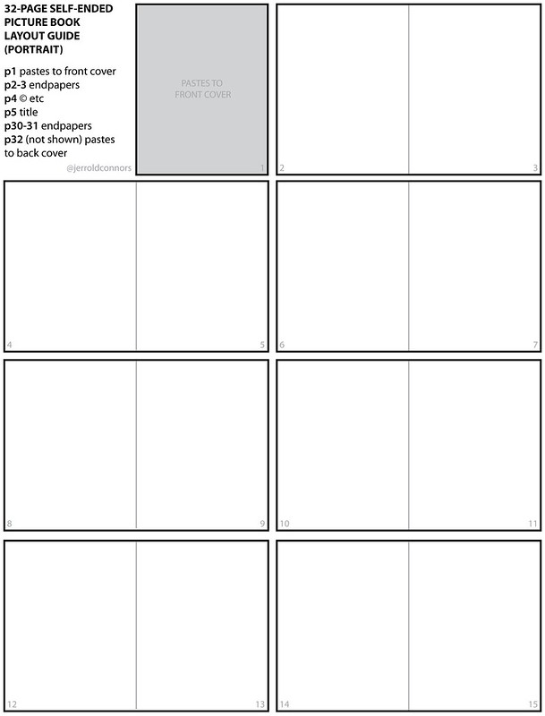32-page children's book layout guide (vertical1)