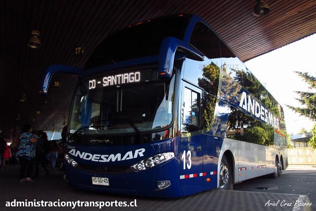 Andesmar Chile - Osorno - Comil Campione DD / Volvo (HSGG45) (13)