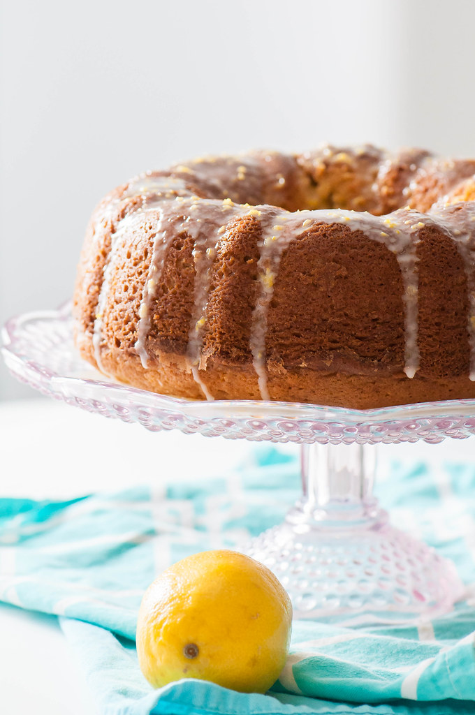 Double Lemon Pound Cake 4