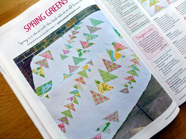 Spring Geese Quilt Popular Patchwork Mar16