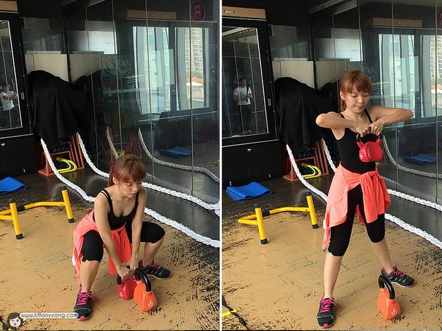 Tiffany Yong fitness
