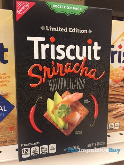 Limited Edition Triscuit Sriracha Crackers