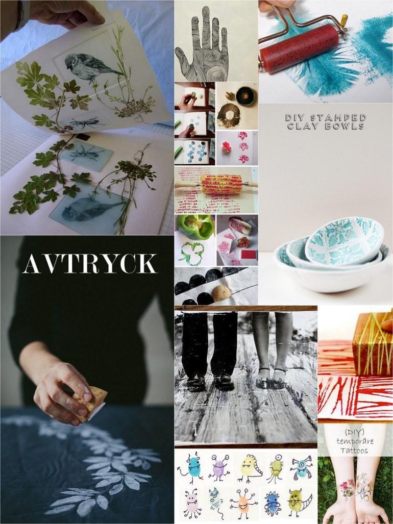 Avtryck DIY
