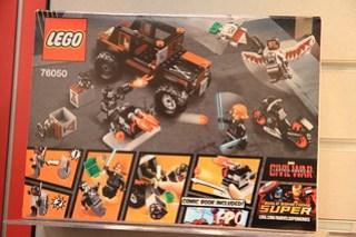 LEGO Marvel 76050 Crossbones' Hazard Heist 2