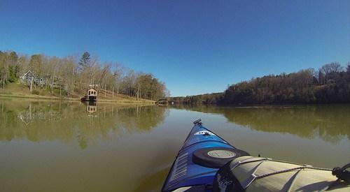 Saluda Lake Paddling-34