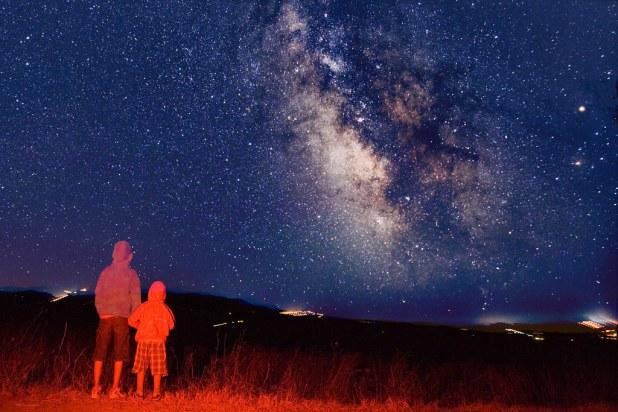 Observacion de estrellas en tenerife