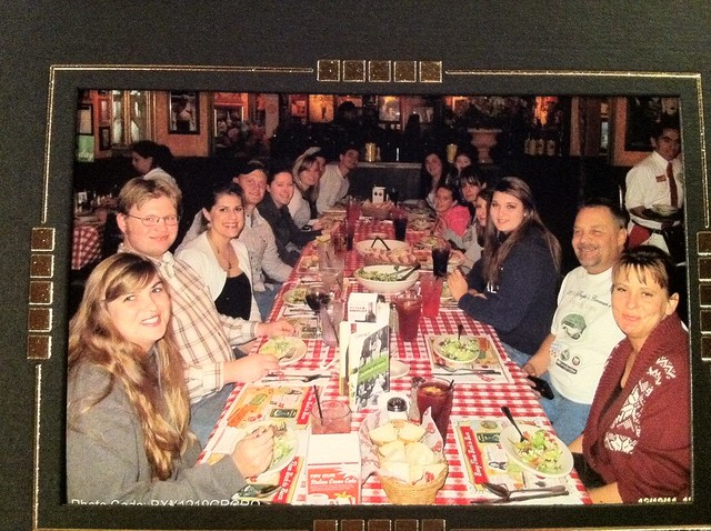 Family Dinner at Bucca di Beppo