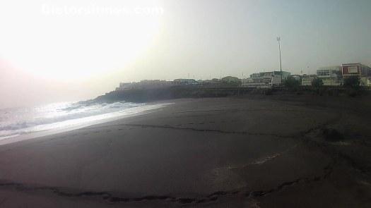 Di?a de Navidad en la Playa de la Garita