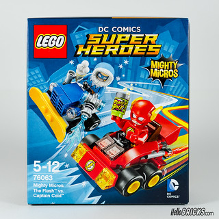 REVIEW LEGO 76063 Mighty Micros Flash vs Captain Cold (HelloBricks)