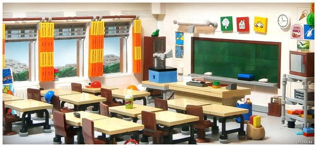 Old School Classroom Is A Classy Build The Brothers