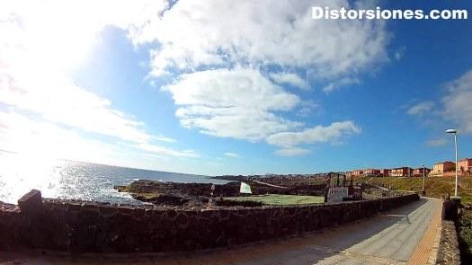 Costa de Gran Canaria a la altura de Hoya Pozuelo