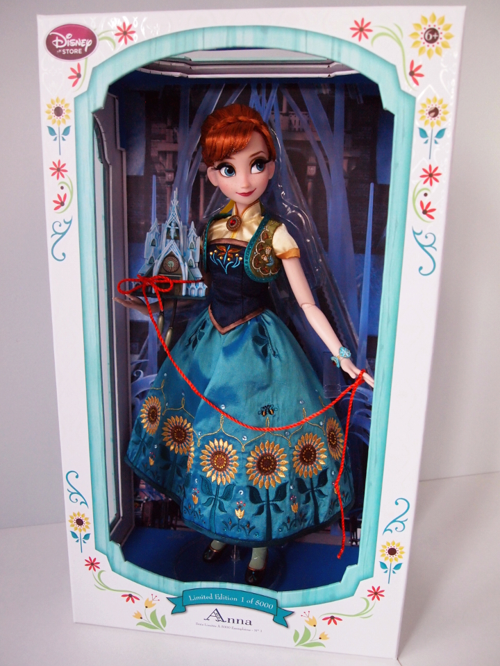 Disney Store Anna Frozen fever
