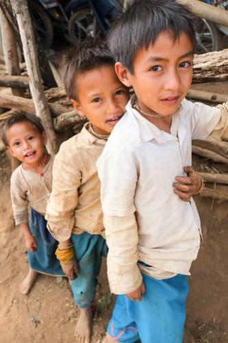 3 Lahu boys