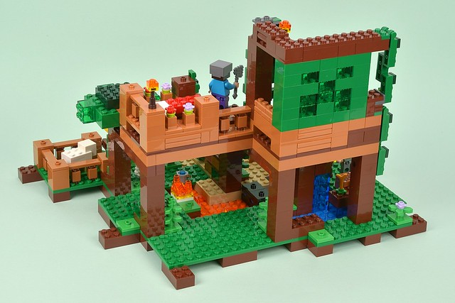 Review 21125 The Jungle Tree House Brickset LEGO Set