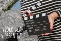 Video gear 5 essentials voor beginnende en gevorderde vloggers