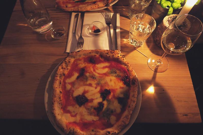 Mother sourdough pizza