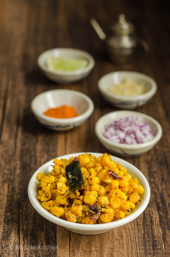 Makka Gudaalu,  Telangana Food, Telangana Cuisine, Telugu Food, Indian Food, South Indian Food, Blogging Marathon, Journey Through the Cuisines, A-Z Challenge, A-Z Telangana Cuisine, Sauteed Corn Kernels, Makka Jonna Gudaalu,