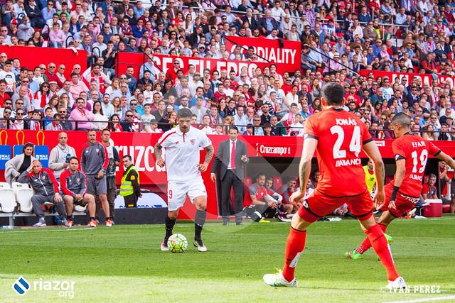 Liga BBVA. Sevilla 1 - Deportivo 1