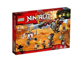 LEGO Ninjago 70592 Salvage M.E.C. box