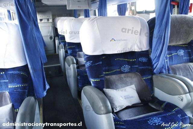 Buses Altas Cumbres - Interior (Salón Cama) - Marcopolo Paradiso 1800 DD / Volvo (GPGG34)