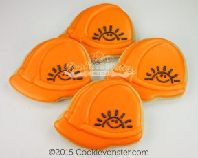 Hard hat helmut with BCCH Sunshine logo