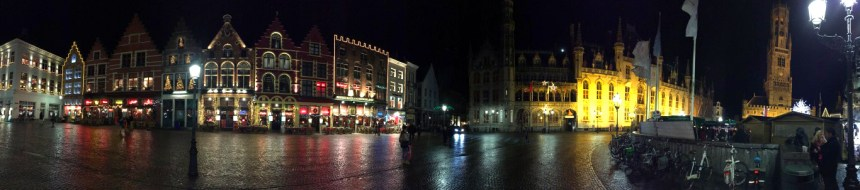 Plaza del mercado en Brujas Recorrer Brujas en un día Recorrer Brujas en un día 24048700510 118922a363 o