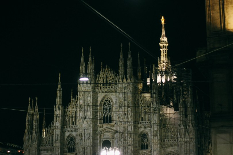 Night in Milan